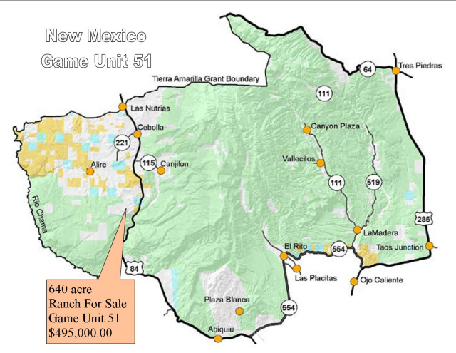 Image: New Mexico Unit 51 Map At Infoasik.co