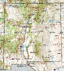 Santa fe fly fishing links for Trout fishing new mexico map